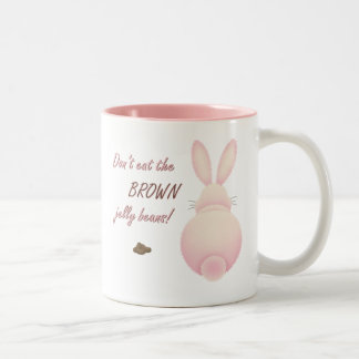 Dont Eat The Brown Jelly Beans Easter Mug