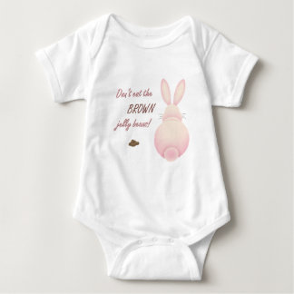 Dont Eat The Brown Jelly Beans Infant Baby Bodysuit