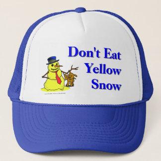 Don't Eat Yellow Snow Trucker Hat