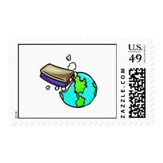Don't erase our planet postage