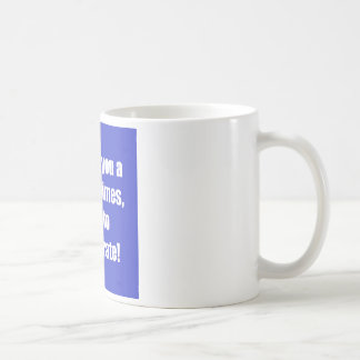Don't exaggerate! coffee mug