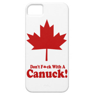Don't F*ck With A Canuck iPhone case