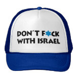 Don't F*ck With Israel Trucker Hat