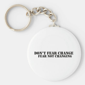 Don't Fear Keychain