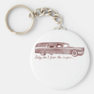 Don't fear the reaper Hearse Design Keychain