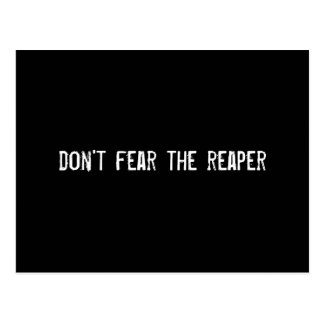 don't fear the reaper postcard