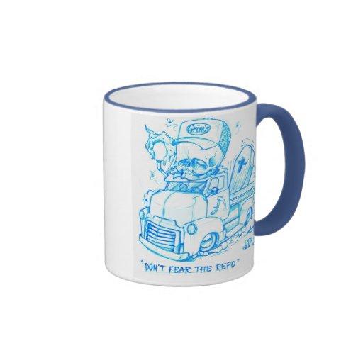 """Don't fear the REPO"" Ringer Coffee Mug"