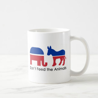 Don't Feed the Animals Coffee Mug