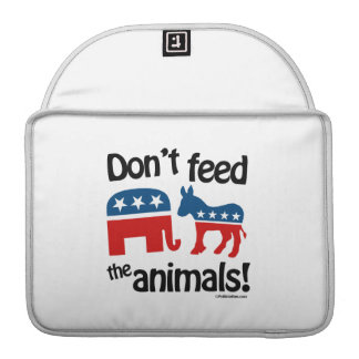 Don't Feed the Animals - Sleeves For MacBooks