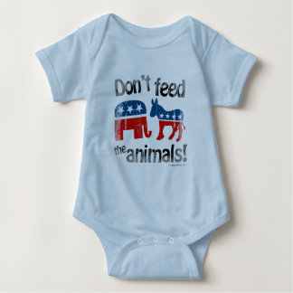 Don't Feed the Animals Party Politics T Shirts