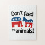 Don't feed the animals puzzle