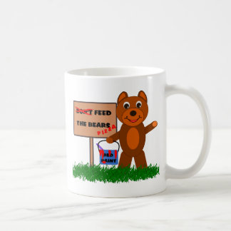 Don't Feed The Bears Coffee Mug