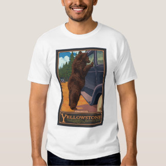 Don't Feed The Bears - Yellowstone National Park Tees