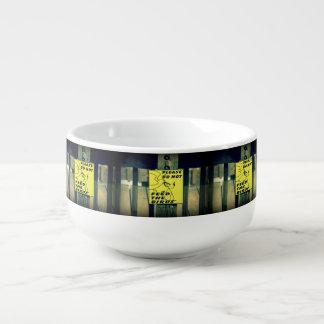 Dont Feed The Birds Soup Mug
