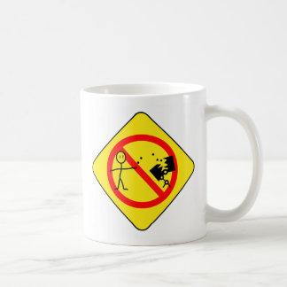 Don't feed the bots coffee mug