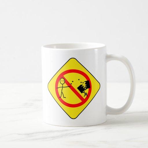 Don't feed the bots mug