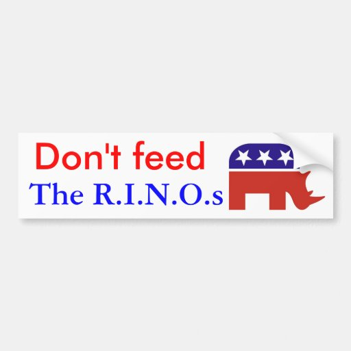 Don't feed , The R.I.N.O.s Bumper Stickers