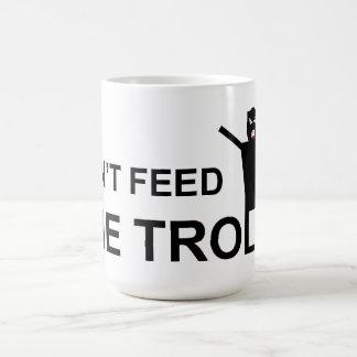 Don't feed the trolls mug