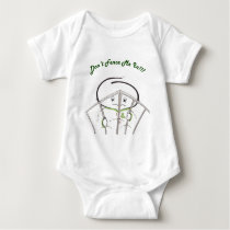 Don't Fence Me In!! Baby Bodysuit