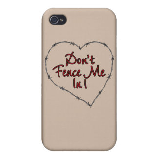 Don't Fence Me In iPhone 4/4S Case