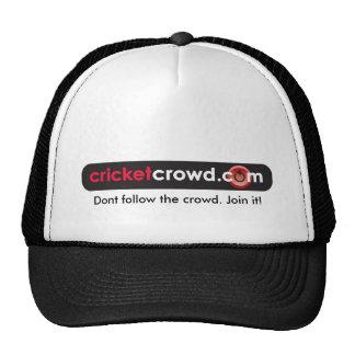 Dont follow the crowd. Join it! Cap Trucker Hat
