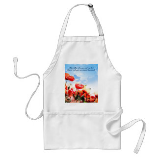 Don't follow where your path may lead… adult apron