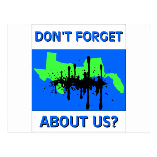Don't Forget About Us Postcard