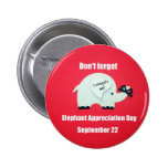 Don't forget Elephant Appreciation Day! Sept. 22 Pin