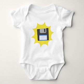 Don't forget floppy disks baby bodysuit