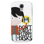 Don't forget floppy disks galaxy s4 case