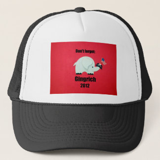 Dont forget: Gingrich 2012 Trucker Hat
