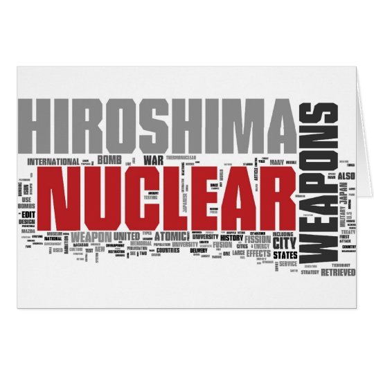 Don't forget Hiroshima Card