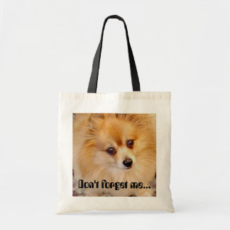 Don't forget me... tote bag