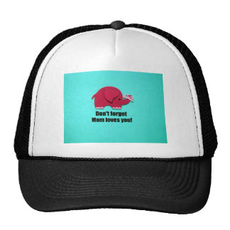 Don't forget Mom loves you! Trucker Hat