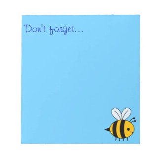 """""""Don't Forget"""" Notepad"""