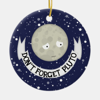 Don't forget Pluto Christmas Tree Ornament