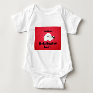 Don't forget the Earthquake...Virginia Baby Bodysuit