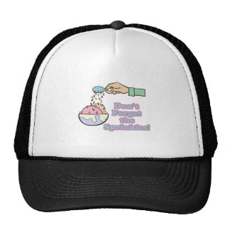 dont forget the sprinkles mesh hat