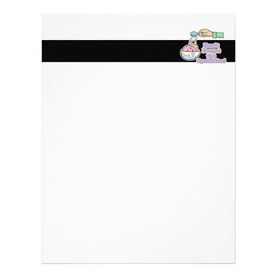 dont forget the sprinkles letterhead