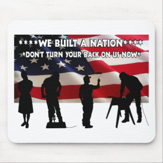Don't Forget the Working Class Mouse Pad