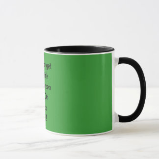 Don't Forget To Drink Your Green Bear On March ... Mug