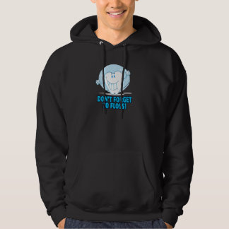 don't forget to floss flossing cartoon tooth hoodie