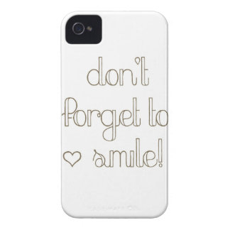 Don't Forget To Smile iPhone 4s Case