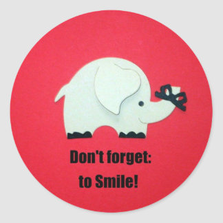 Don't forget to Smile! Stickers