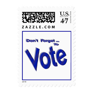 Don't Forget to Vote Postage