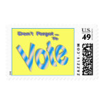 Don't Forget to Vote Stamps