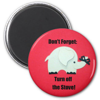 Don't forget: Turn off the stove! Magnet