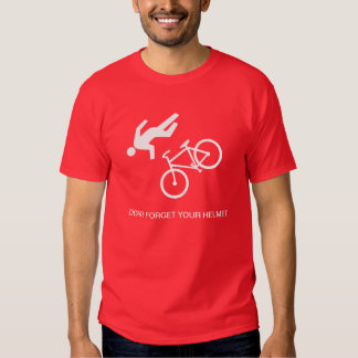 Don't forget your helmet shirt