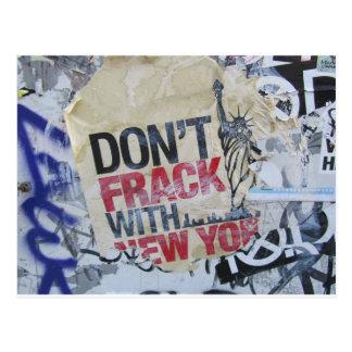 Don't Frack Postcard