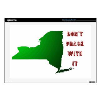 "Don't Frack With New York Skin For 17"" Laptop"